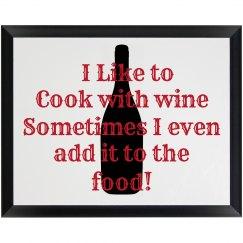 Kitchen Plaque