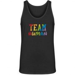 Team Human Unisex Tank