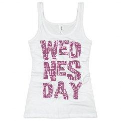 Pink Wednesday Tank