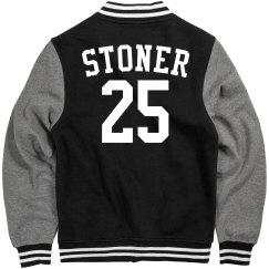 Custom letterman sports jacket