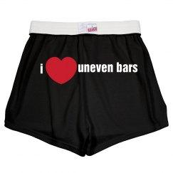 I love uneven bars