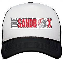 Sandbox Volleyball trucker hat