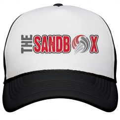 Sandbox Volleyball trucker hat