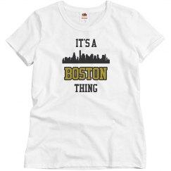 It's a boston thing