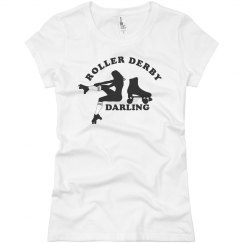 Roller Derby Darling Tee