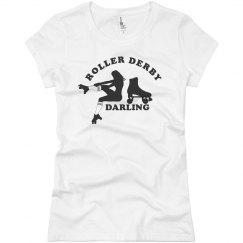 Roller Derby Darling Tee