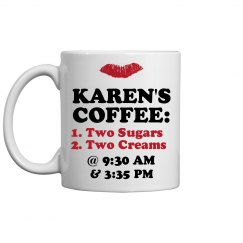 Karen's Custom Coffee Mug
