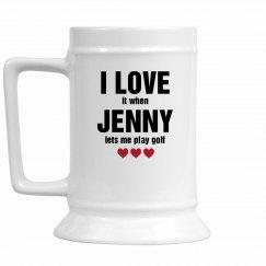 I Love It Mug