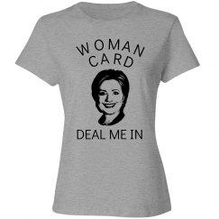 Hilary Woman card