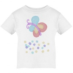 Butterfly and daisies tee