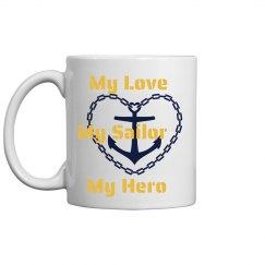 Navy Sailor Mug