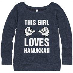 This Girl Loves Hanukkah!