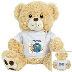 Scorpio Teddy Bear