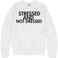 Stressed Sweater Pullover