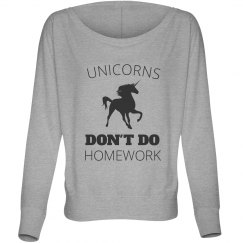 Unicorns Don't Do Homework