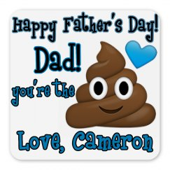Custom Father's Day Funny Magnet