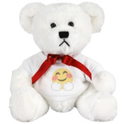 Hugging Face Small Plush Teddy Bear