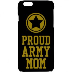 Proud army mom phone case