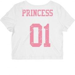 Princess 01 Crop Top