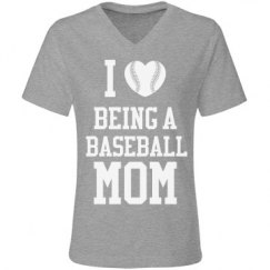 Love Being Baseball Mom