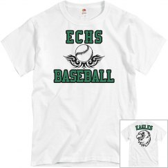 ECHS BASEBALL White