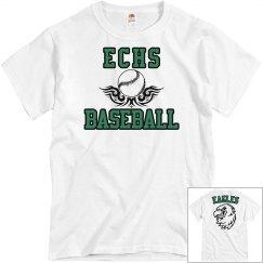 ECHS BASEBALL White
