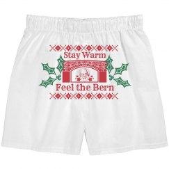 Stay Warm Bernie Boxers