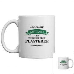 World's best plasterer mug