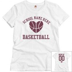 Budget Priced Basketball Mom Shirt