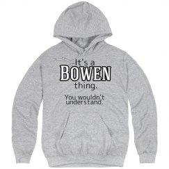 Its a Bowen thing