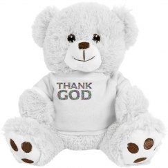 Thank God Teddy Bear