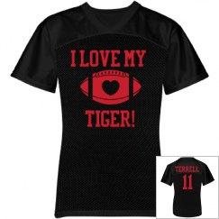 love my tiger jersey