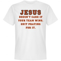 Jesus: Not A Sports Fan