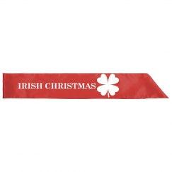 Irish Christmas Sash