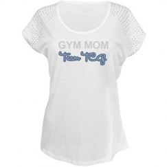 Trendy Blingy Gym Mom