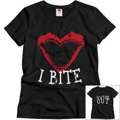 I Bite T-Shirt