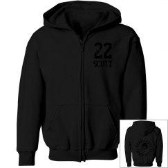 Youth Zip Hoodie w/ Back