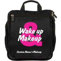 Wake-up & Makeup Travel Hair and Beauty Bag