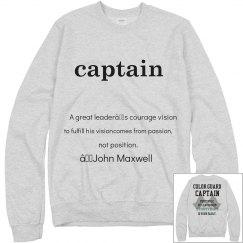 color guard captain