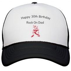 30th birthday dad