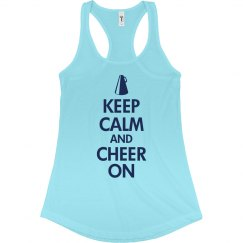 Keep Calm Cheer On