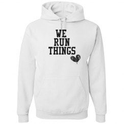 We run things