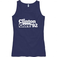 Clinton Gore 1992 retro politics