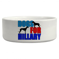 Dogs for Hillary