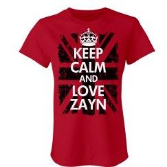 Keep Calm & Love Zayn