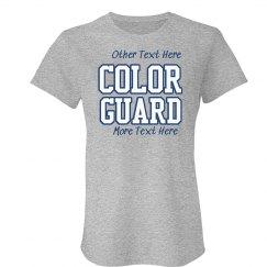 Color Guard School Colors
