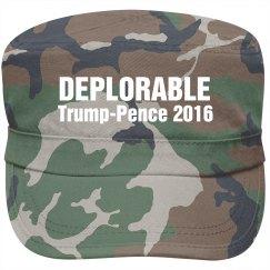 Deplorable Trump-Pence 2016 Hat