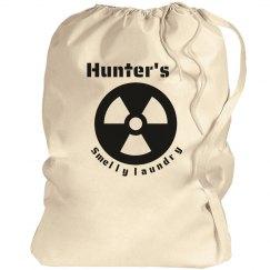 Hunter's laundry bag