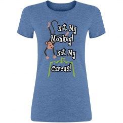not my monkey!