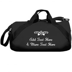Custom Dance Studio & Name Bag